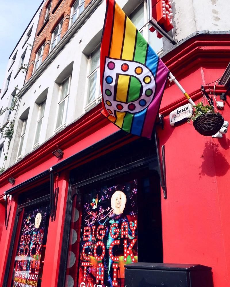 Dublin street art @minkaguides Panti Bar