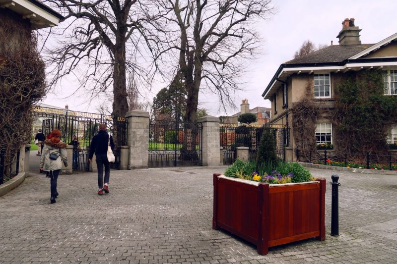 National Botanic Gardens Dublin @minkaguides entrance