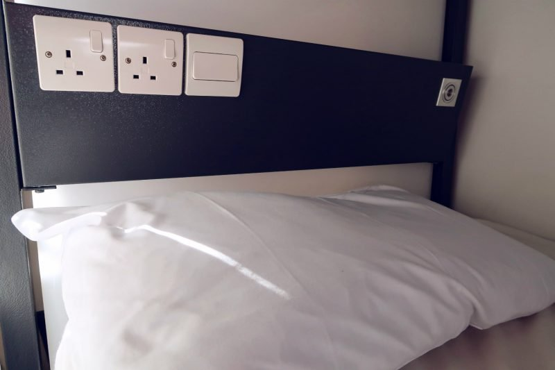 Review Generator Hostel Dublin @minkaguides Female dorm power sockets