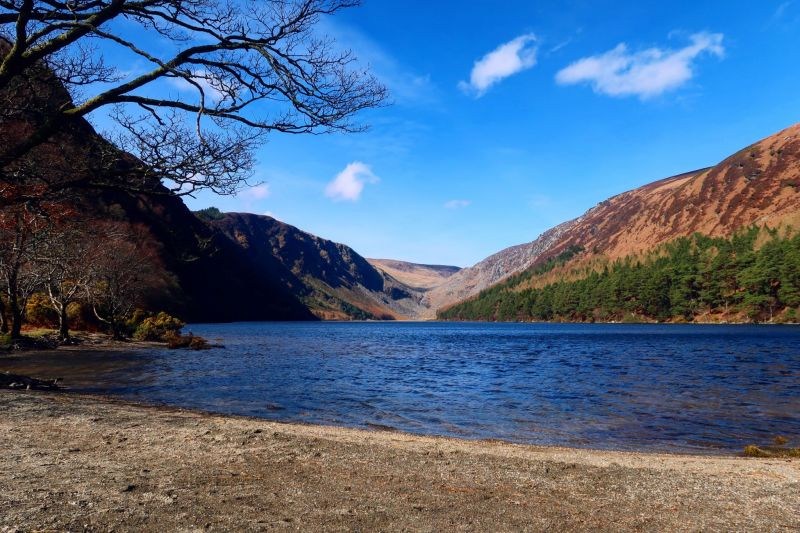 Wicklow Mountains day trip from Dublin @minkaguides Glendalough Upper Lake 3
