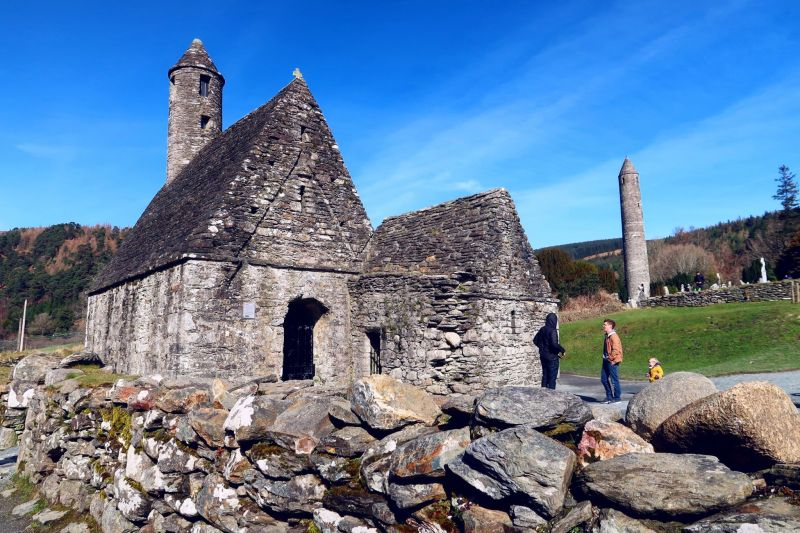Wicklow Mountains day trip from Dublin @minkaguides Monastary 2