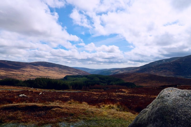 Wicklow Mountains day trip from Dublin @minkaguides Wicklow Gap 2