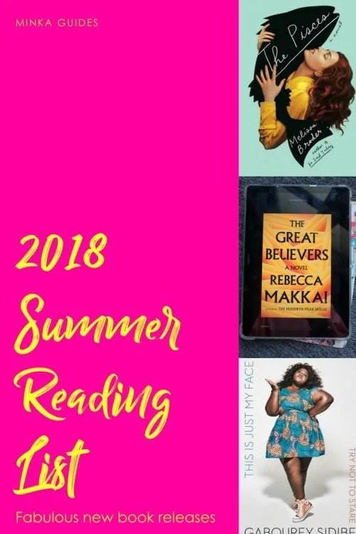 Summer reading 2018 Pinterest