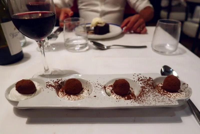 Gluten-free Barcelona Restaurante-Market-truffle-dessert CREDIT Minka Guides