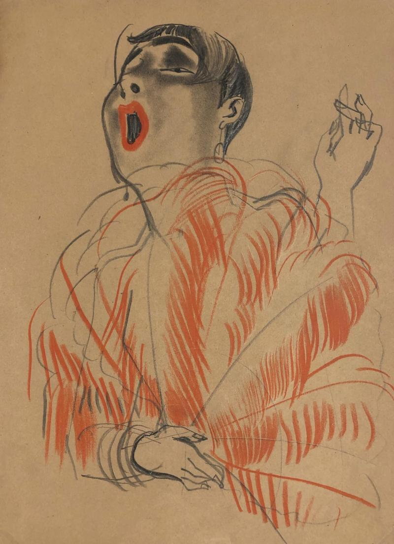 Autumn London 2019 CREDIT Erna Schmidt-Caroll Chansonette (Singer), c. 1928 Private collection © Estate Erna Schmidt-Caroll