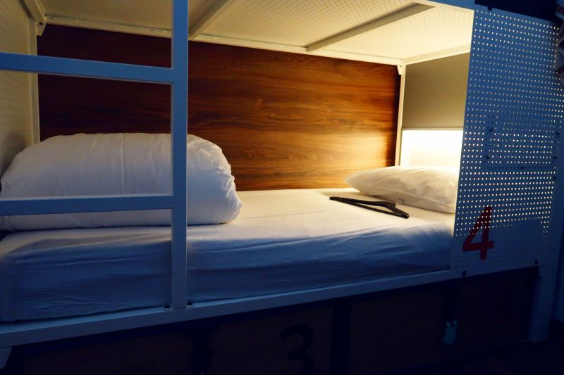 Generator Hostel Madrid @minkaguides female dorm bed