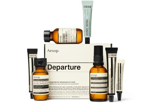 Gifts for travel lovers - inflight travel kit CREDIT Aesop