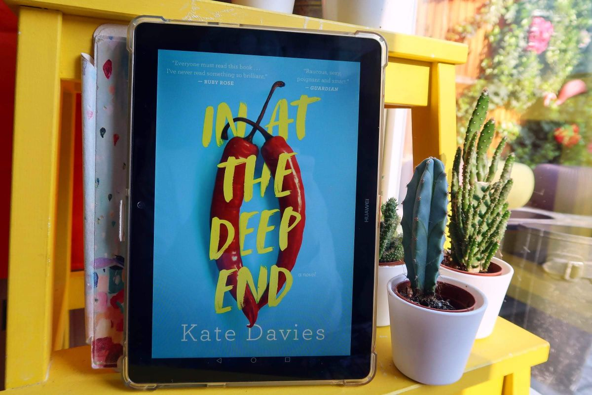 Book recommendations spring 2020 In At The Deep End Kate Davies CREDIT Minka Guides