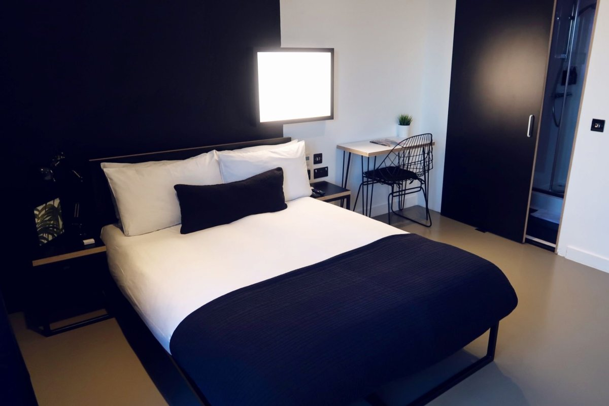 Kip Hotel Hackney @minkaguides Kip Large Double room