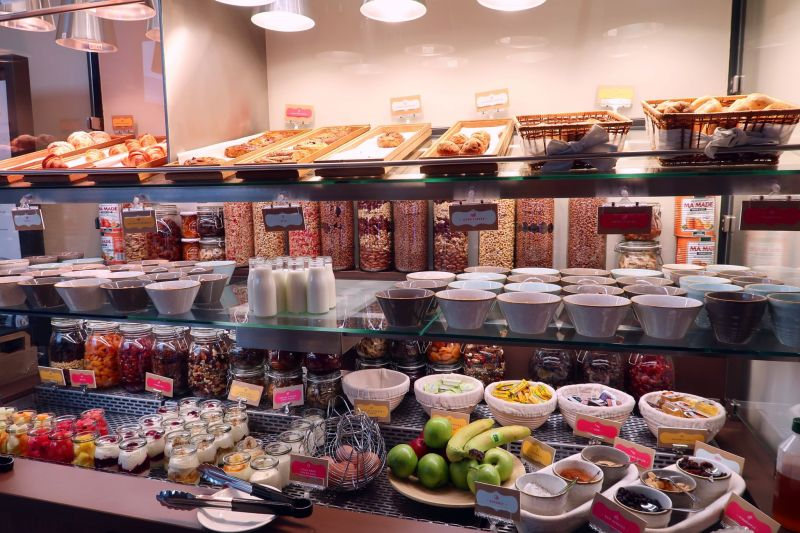 Point A Hotel London Shoreditch @minkaguides breakfast