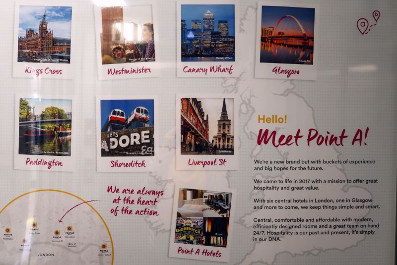 Point A Hotel London Shoreditch @minkaguides map