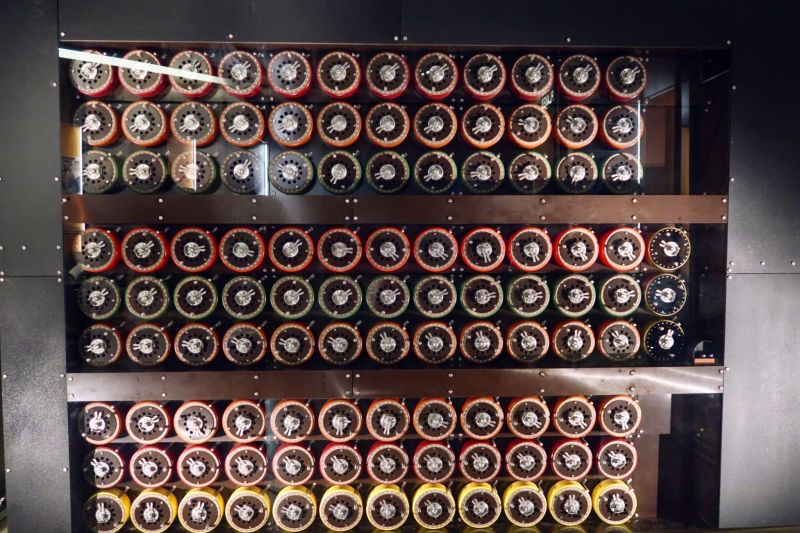 Bletchley Park Museum British Bombe machine CREDIT_ © Minka Guides
