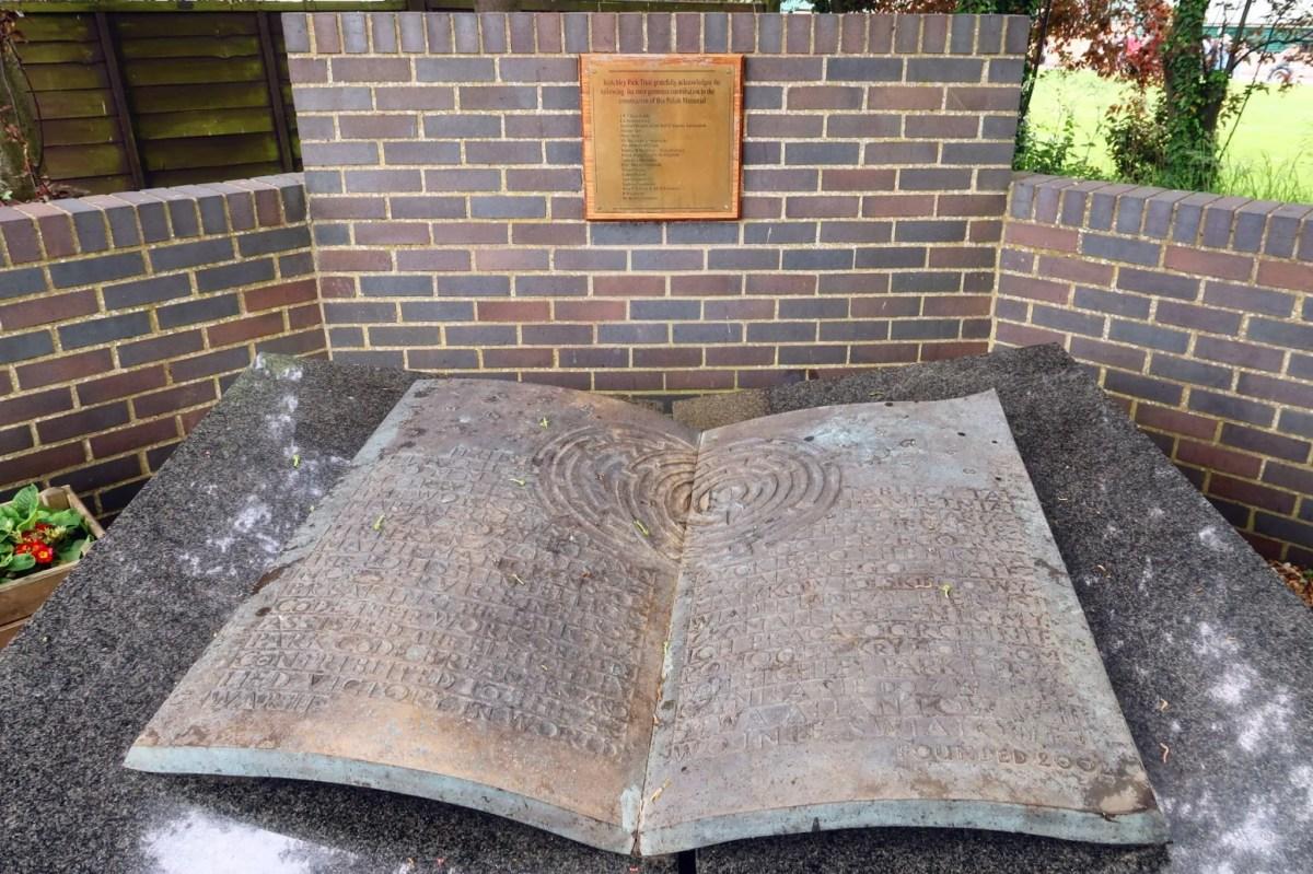 Bletchley Park Museum Polish memorial CREDIT_ © Minka Guides