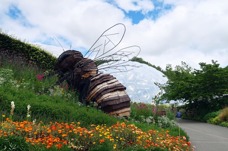 Cornwall itinerary - Eden Project bee biome CREDIT Minka Guides