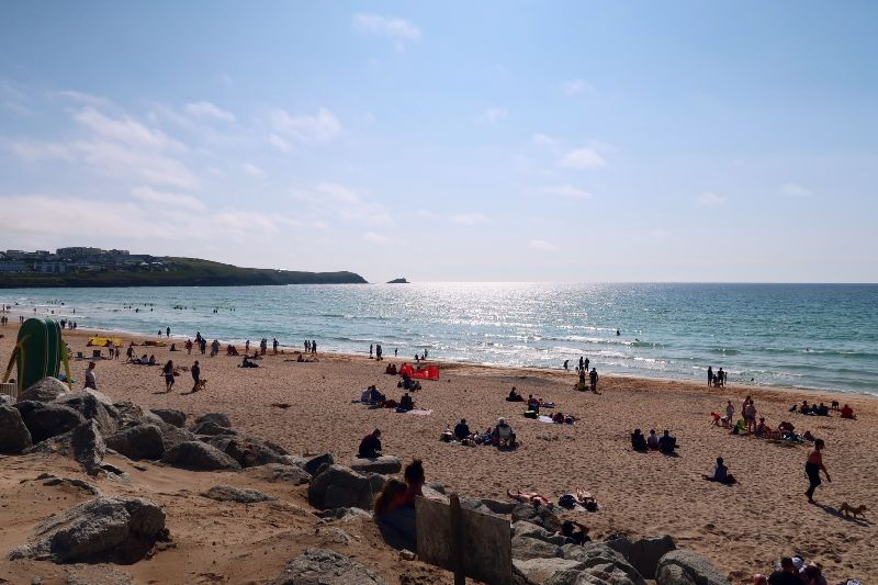 Cornwall itinerary - Fistral Beach CREDIT Minka Guides