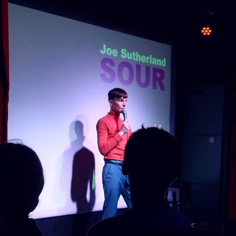 Queer Edinburgh Fringe Joe Sutherland CREDIT Minka Guides