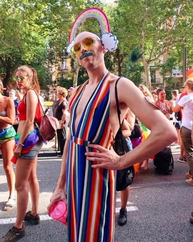 Barcelona Pride 2018 Oliver CREDIT Minka Guides