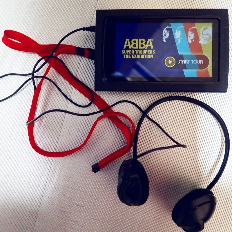 ABBA Super Troupers exhibition audio guide CREDIT Minka Guides_picmonkeyed