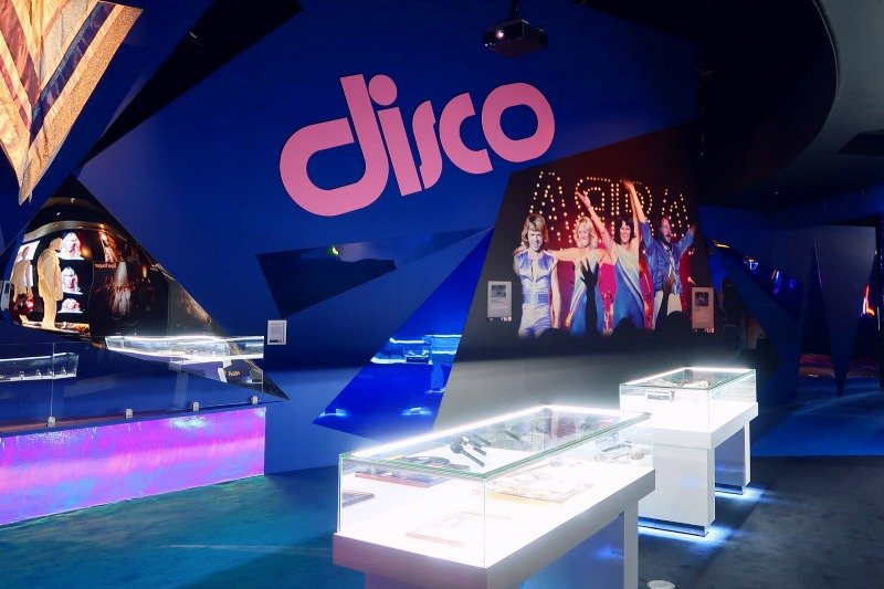 ABBA Super Troupers exhibition disco display CREDIT Minka Guides_picmonkeyed