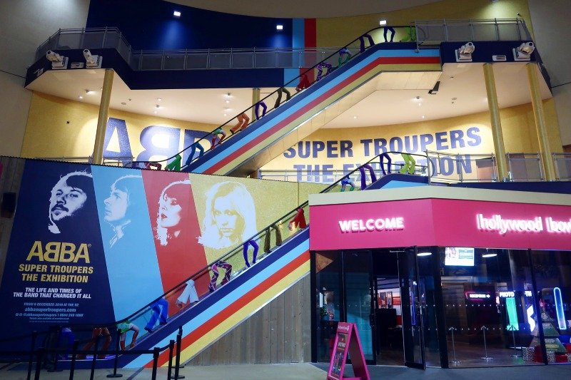 ABBA Super Troupers exhibition entrance CREDIT Minka Guides_picmonkeyed