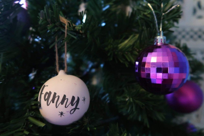 Spending Christmas alone - tree decorations CREDIT Minka Guides
