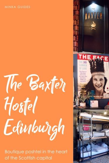 The Baxter Hostel Edinburgh review @minkaguides
