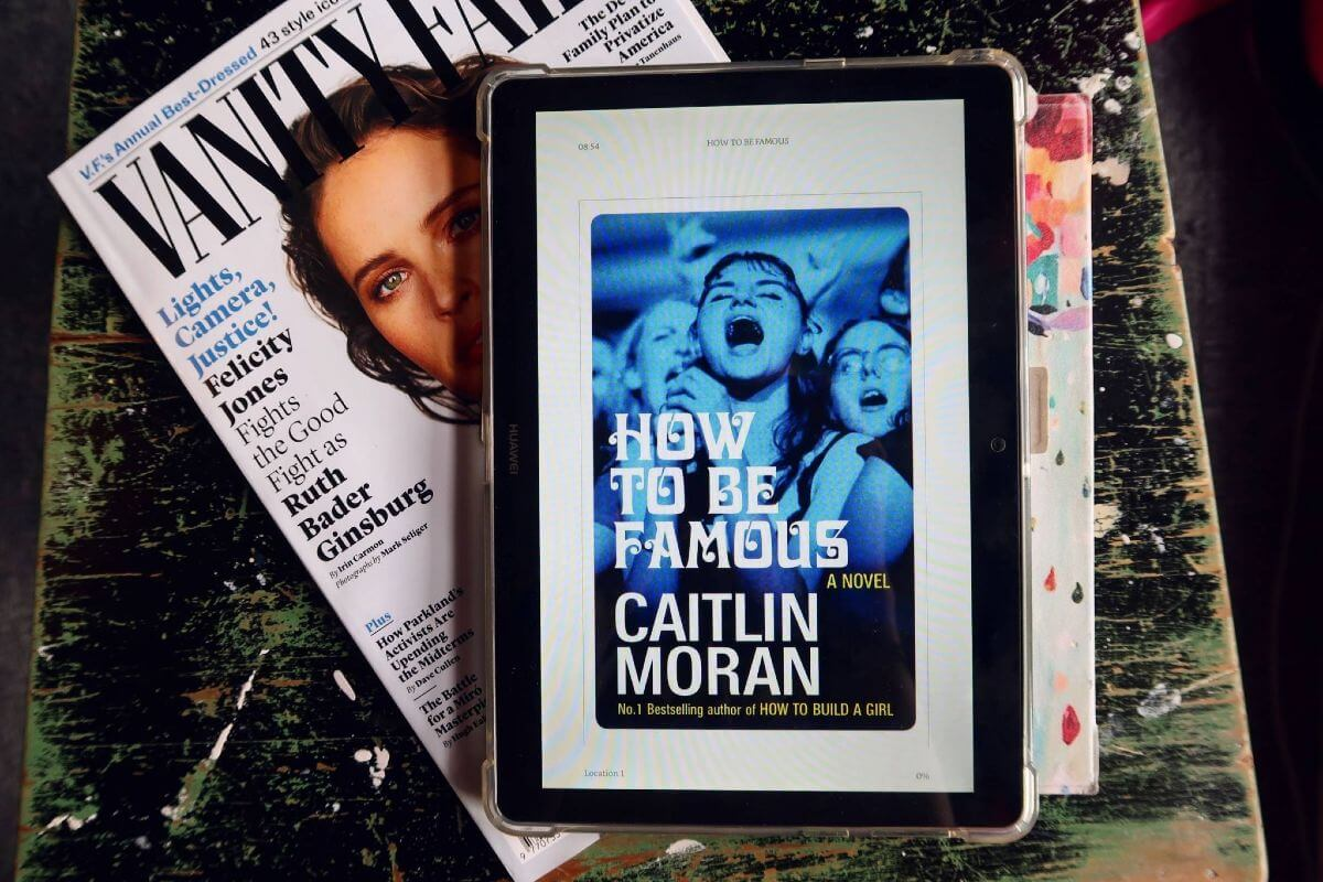 New books winter 2018 How-to-be-Famous-by-Caitlin-Moran CREDIT Minka Guides