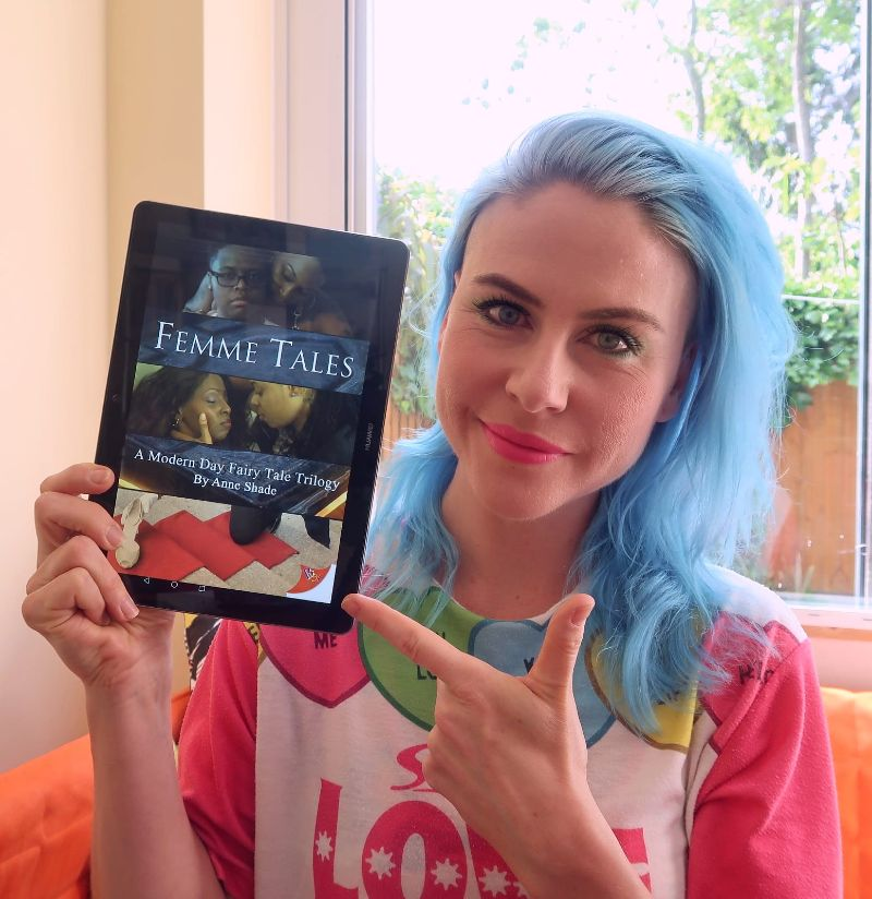 Book review: Femme Tales by Anne Shade | Minka Guides | queer books