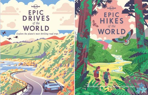 Gifts for travel lovers - epic hikes and drives books CREDIT Lonely Planet