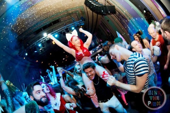30 things I learnt from life after 30 - Sink The Pink Winter Ball 2014 CREDIT Minka Guides