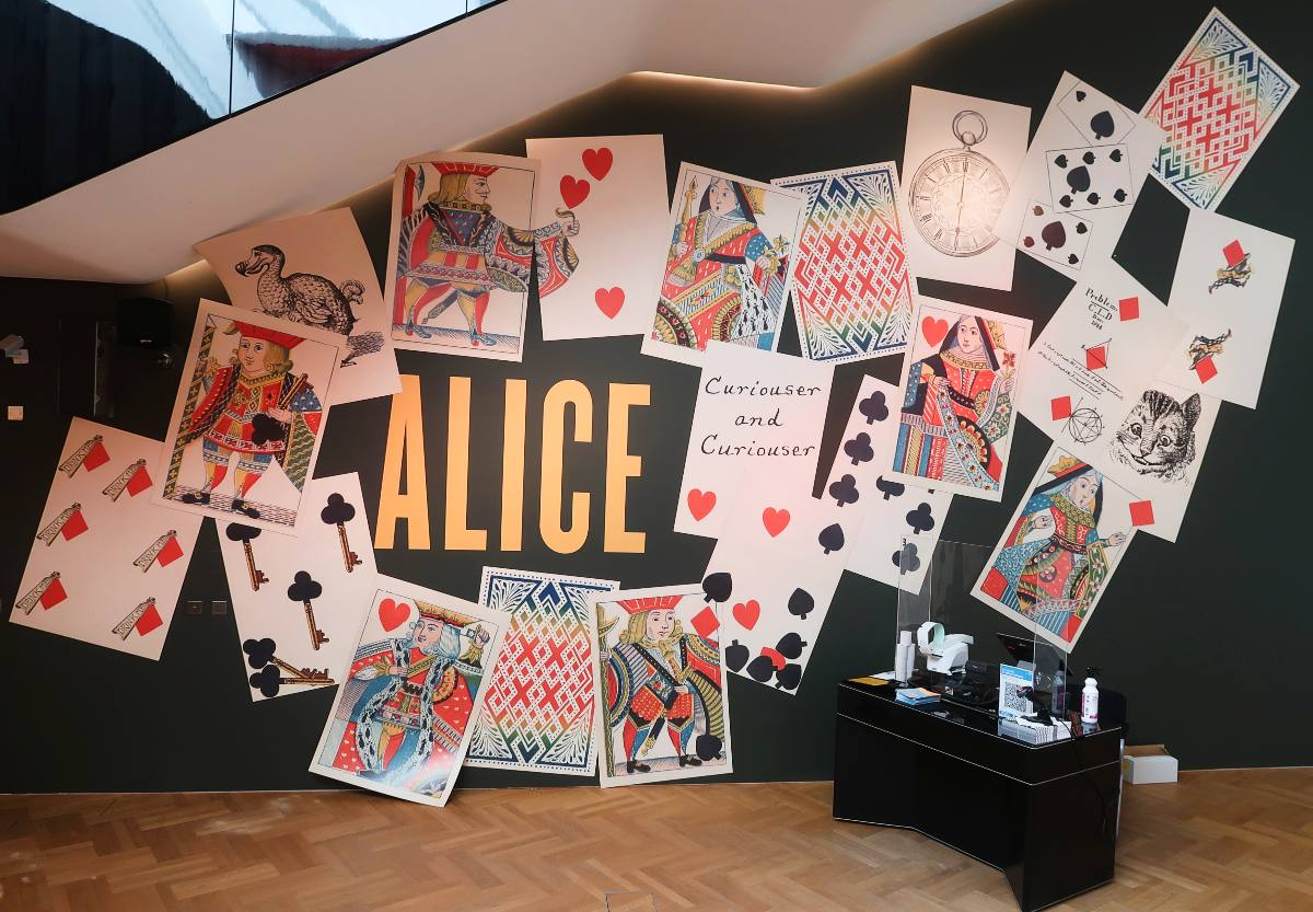 Exhibitions in London - Alice_ Curiouser and Curiouser at the V&A - entrance CREDIT Minka Guides