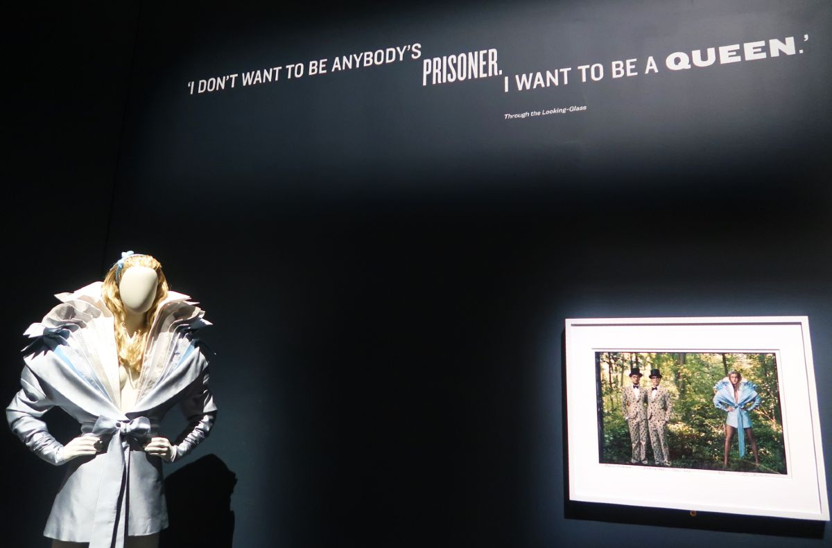 Exhibitions in London - Alice_ Curiouser and Curiouser at the V&A - quote CREDIT Minka Guides