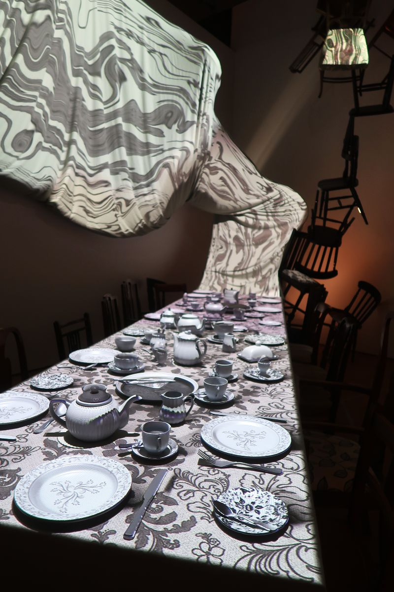 Exhibitions in London - Alice_ Curiouser and Curiouser at the V&A - tea CREDIT Minka Guide
