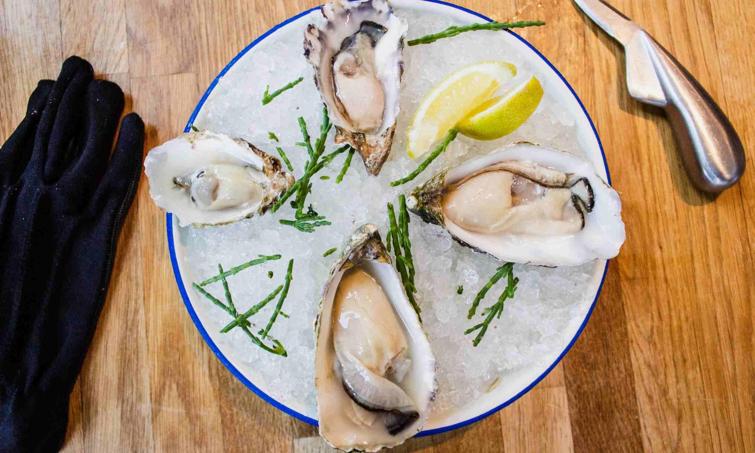 Oysters London - hero CREDIT louis hansel restaurant photographer-Unsplash