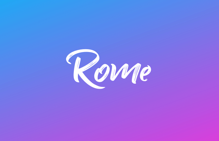 Rome city guide - European city guides - Minka Guides - queer travel