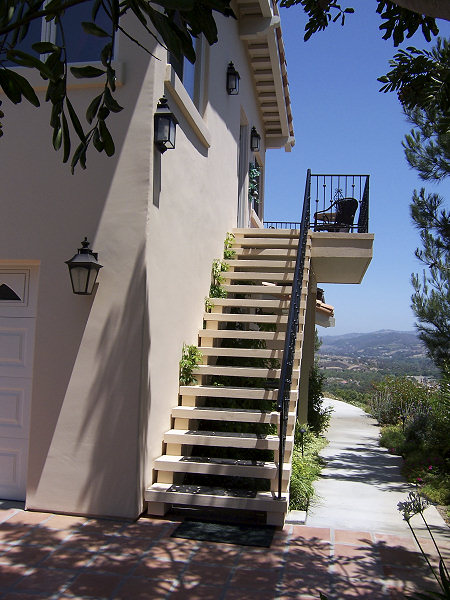 house design with stairs outside : Staircase Gallery
