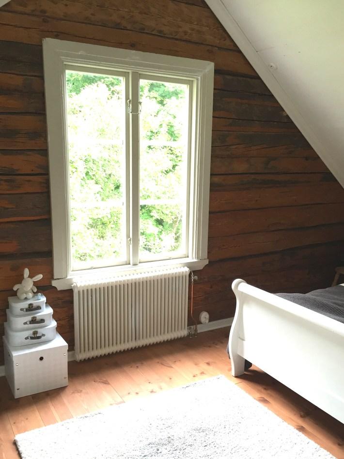 Sovrummet fönster