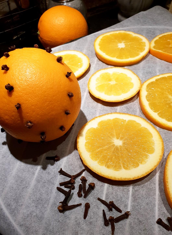 Apelsiner nejlika