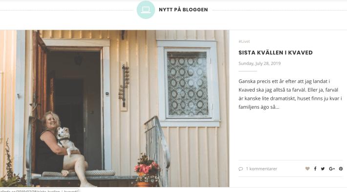 Bloggar LaLinda