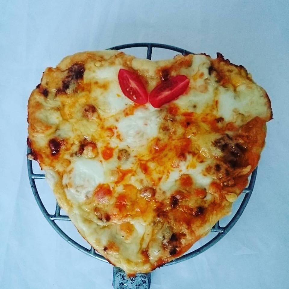 hjertepizza