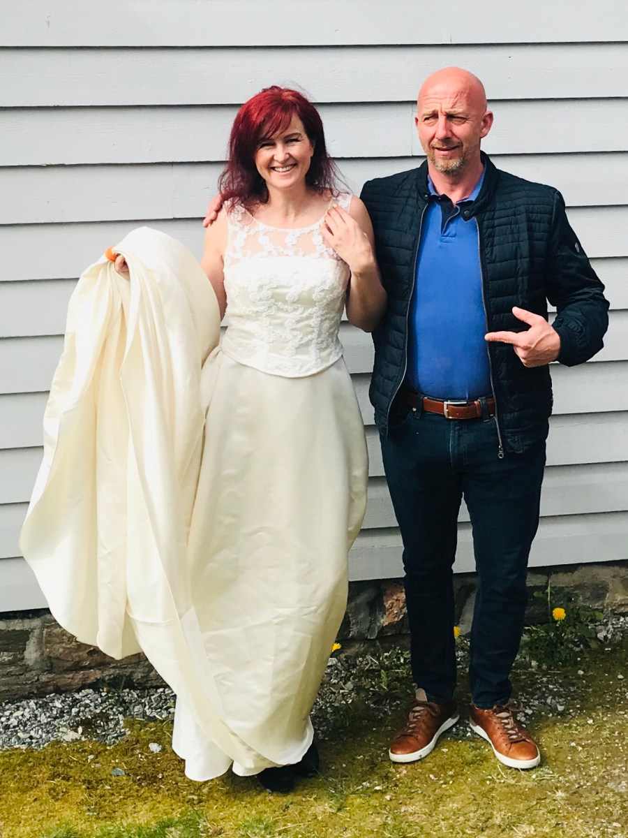 Bryllupsdagen og historien om Brudekjolen