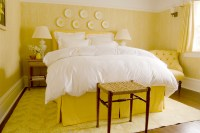 home design idea: Bedroom Decorating Ideas Yellow Walls