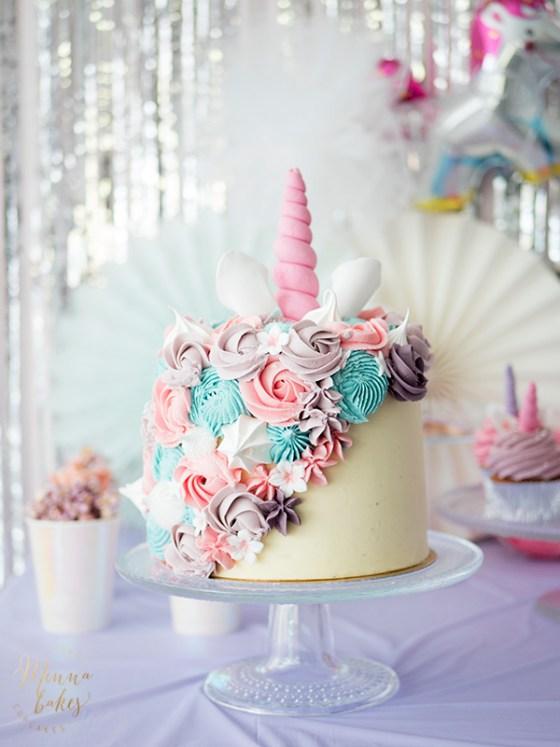 unicorn cake minna bakes jyväskylä
