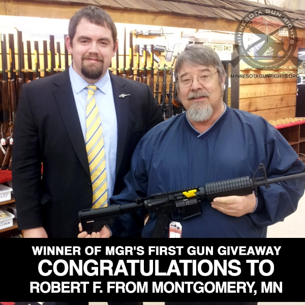 And the free AR15 goes to