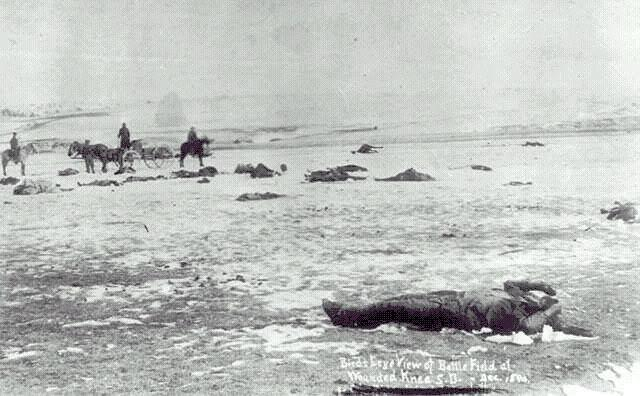 wounded knee massacre photo