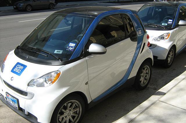 car 2 go cars