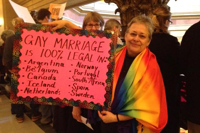 gay marriage supporter