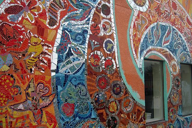 mural detail photo