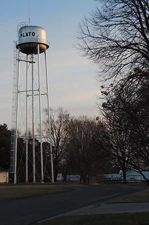 Plato Water tower