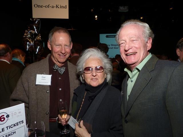 Party sponsor Gar Hargens, Priscilla Pierce? and tk